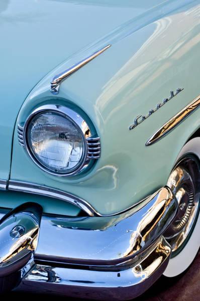 Photograph - 1954 Lincoln Capri Headlight by Jill Reger