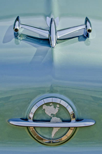 Hoodies Photograph - 1954 Oldsmobile Super 88 Hood Ornament by Jill Reger