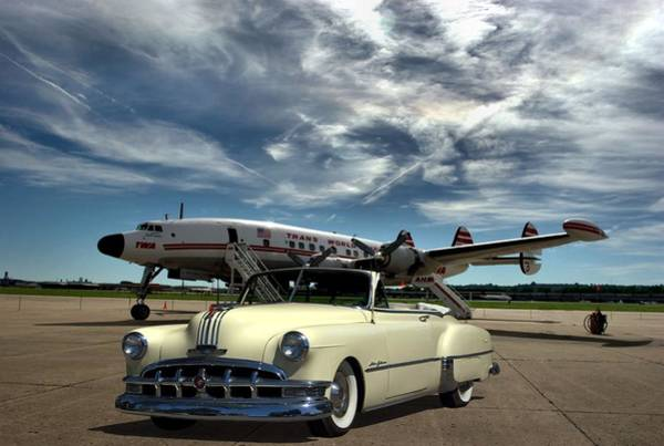 Photograph - 1954 Pontiac Chieftain Deluxe Convertible by Tim McCullough
