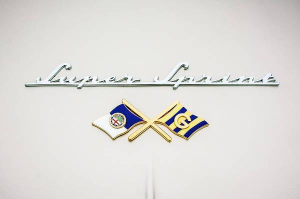 Photograph - 1955 Alfa Romeo 1900 Css Ghia Aigle Cabriolet Grille Emblem - Super Sprint Emblem -0604c by Jill Reger