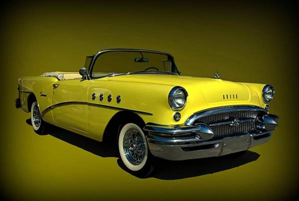 Photograph - 1955 Buick Centry Convertible by Tim McCullough