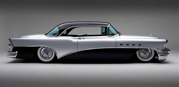 Classic Hot Rod Wall Art - Photograph - 1955 Buick Roadmaster by Gianfranco Weiss