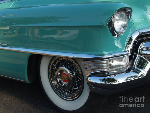 Wall Art - Photograph - 1955 Cadillac Coupe De Ville Fender by Anna Lisa Yoder