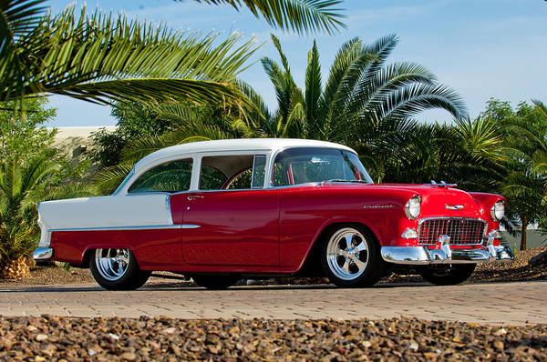 Photograph - 1955 Chevrolet 210 by Jill Reger