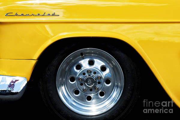 Chevy Bel Air Photograph - 1955 Chevrolet Abstract by Tim Gainey