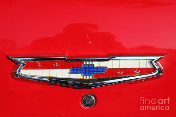 Wall Art - Photograph - 1955 Chevrolet Bel Air American Hotrod 5d26243 by Wingsdomain Art and Photography