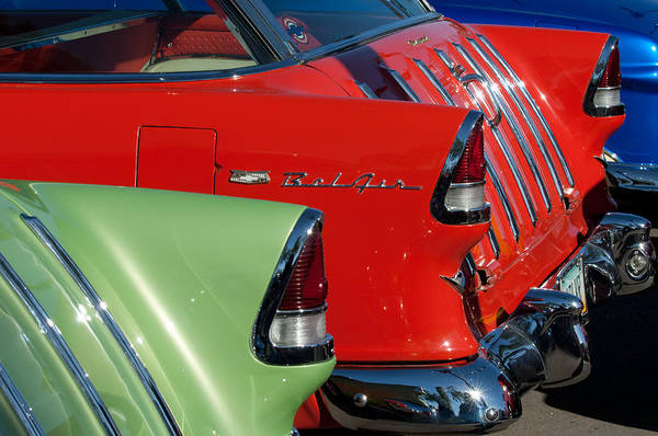 Nomad Photograph - 1955 Chevrolet Belair Nomad Taillights by Jill Reger