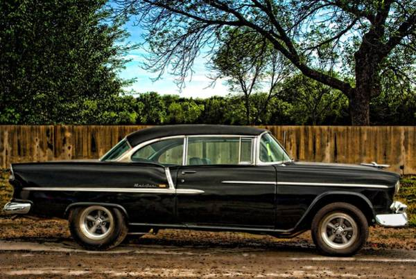 Photograph - 1955 Chevrolet Belair by Tim McCullough