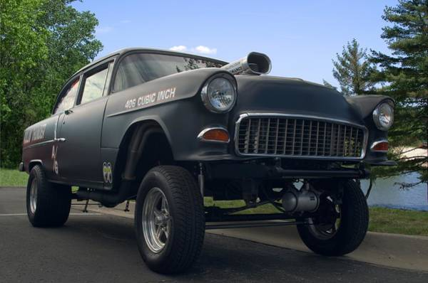 Photograph - 1955 Chevrolet Gasser by Tim McCullough