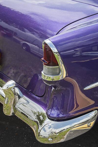 V8 Engine Photograph - 1955 Chevrolet by Rich Franco