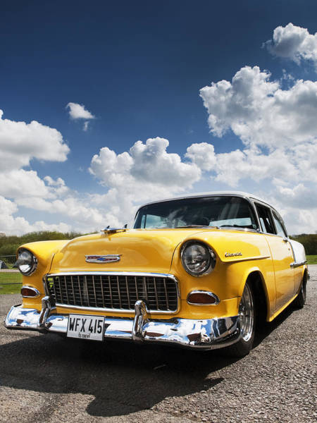 Street Rod Photograph - 1955 Chevrolet by Tim Gainey