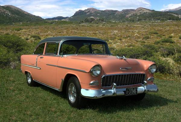 Photograph - 1955 Chevrolet Two Tone Bel Air by Tim McCullough