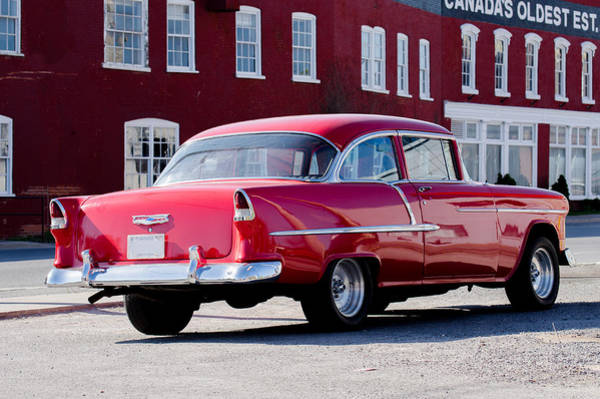 Napanee Photograph - 1955 Chevy Bel Air Coupe by Shane Laing