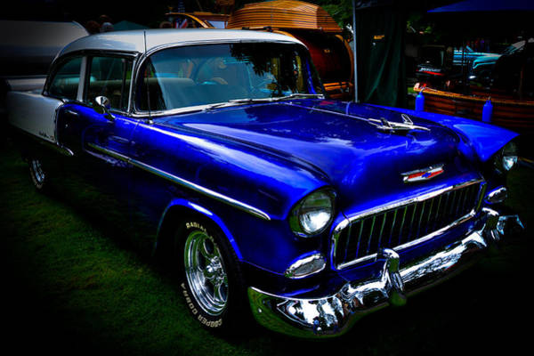 David Patterson Photograph - 1955 Chevy Bel Air by David Patterson