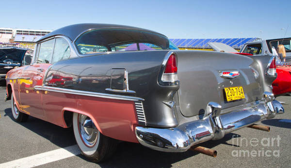 Wall Art - Photograph - 1955 Chevy Bel Air by Kevin McCarthy