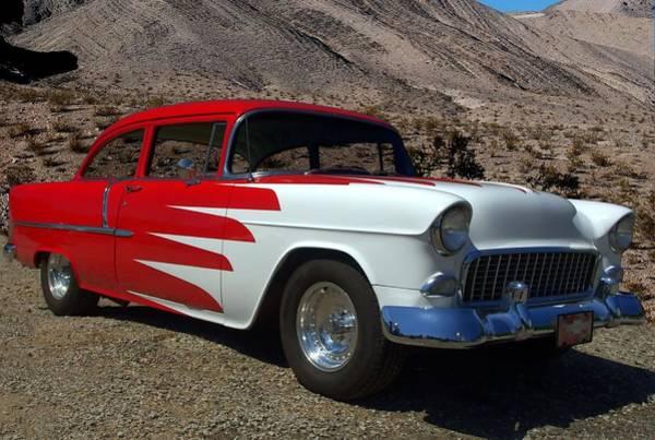 Photograph - 1955 Custom Chevrolet by Tim McCullough