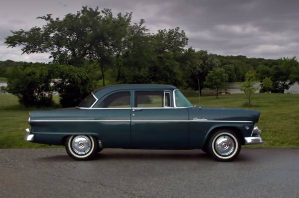 Photograph - 1955 Ford Customline by Tim McCullough