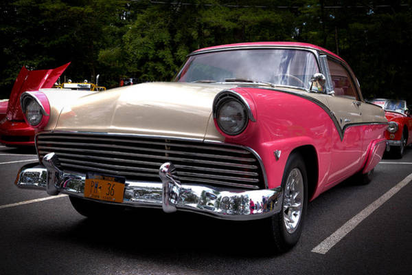 Photograph - 1955 Ford Fairlane Crown Victoria 2-door Hard Top by David Patterson