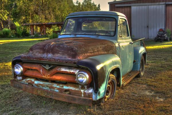 Dump Truck Photograph - 1955 Ford Redo Ready Art by Reid Callaway