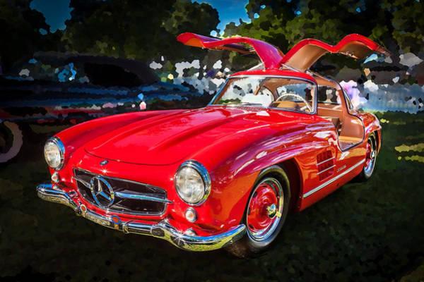 Photograph - 1955 Mercedes Benz 300 Sl Gullwing  by Rich Franco