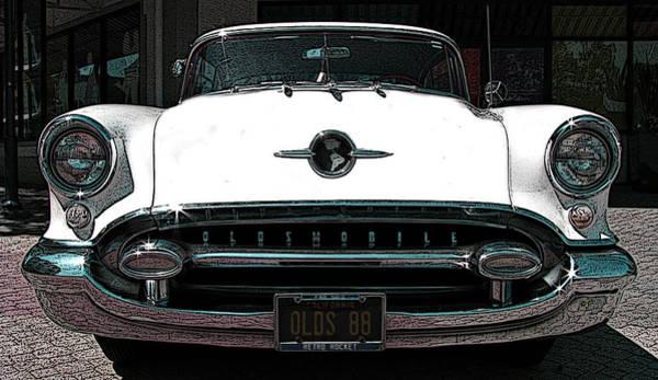 Photograph - 1955 Oldsmobile 88 by Samuel Sheats