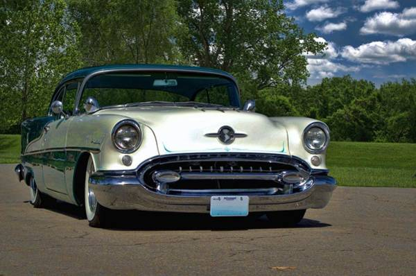 Photograph - 1955 Oldsmobile Holiday 88 by Tim McCullough