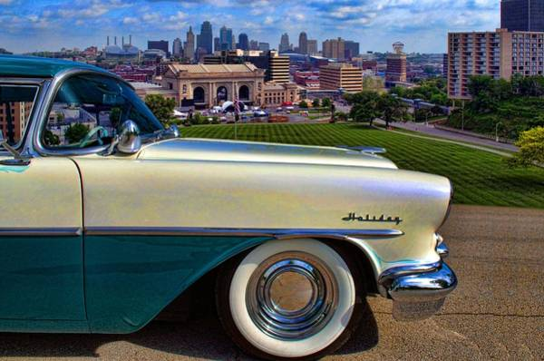 Photograph - 1955 Oldsmobile Holiday by Tim McCullough