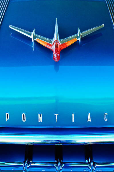 Photograph - 1955 Pontiac Safari Hood Ornament 4 by Jill Reger