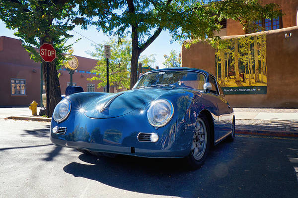 Photograph - 1956 356 A Sunroof Coupe Porsche by Mary Lee Dereske