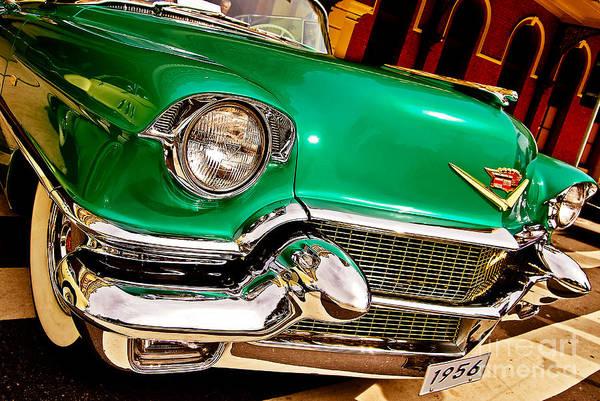Photograph - 1956 Cadillac Detail by Carlos Alkmin