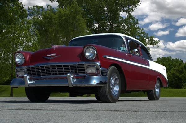 Photograph - 1956 Chevrolet Bel Air by Tim McCullough