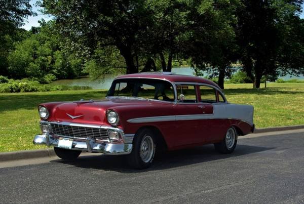 Photograph - 1956 Chevrolet Model 210 by Tim McCullough