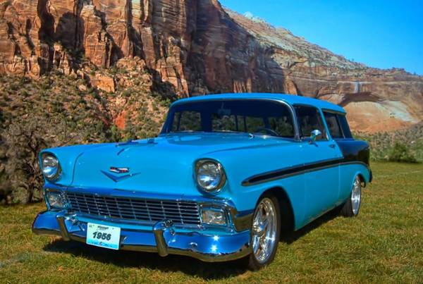 Photograph - 1956 Chevrolet Nomad by Tim McCullough