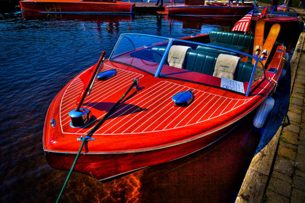 David Patterson Photograph - 1956 Chris-craft Capri Classic Runabout by David Patterson