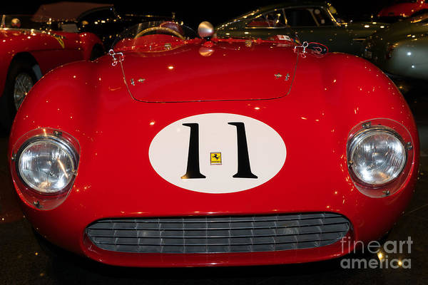 Photograph - 1956 Ferrari 625 Le Mans Spyder Dsc2537 by Wingsdomain Art and Photography