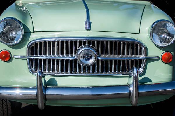Photograph - 1956 Fiat 1100 Sedan Grille -0036c by Jill Reger