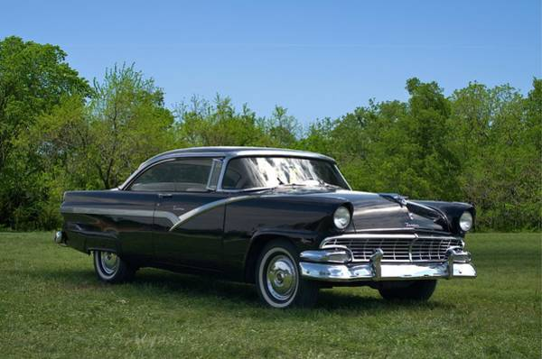Photograph - 1956 Ford Fairlane Victoria by Tim McCullough