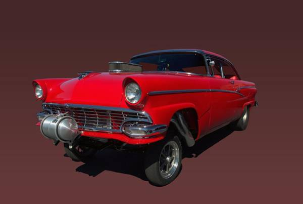 Photograph - 1956 Ford  Pro Street Dragster by Tim McCullough