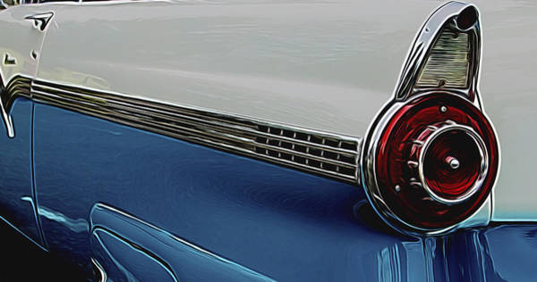 Photograph - 1956 Ford by Ron Roberts
