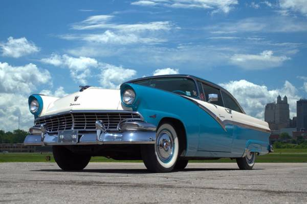Photograph - 1956 Ford Victoria by Tim McCullough