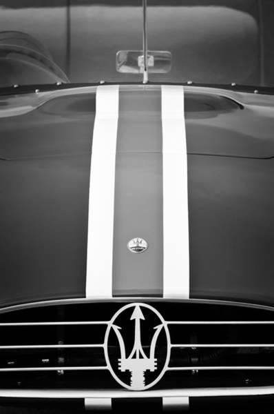Photograph - 1956 Maserati 350 S Emblem by Jill Reger