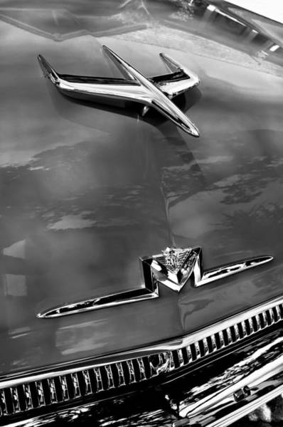 Photograph - 1956 Mercury Monterey Hood Ornament - Emblem 1 by Jill Reger