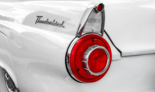 Wall Art - Photograph - 1956 Thunderbird Tail Light by Frank J Benz