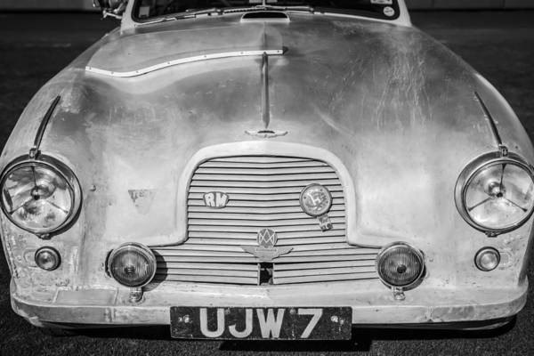 Photograph - 1957 Aston Martin Db2-4 Mark IIi -0617bw by Jill Reger