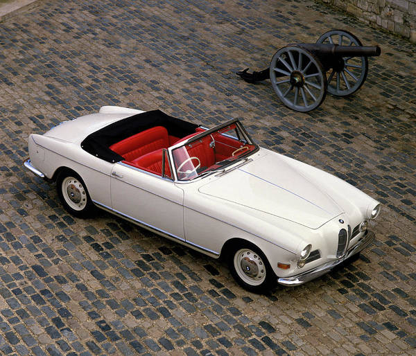 Motoring Photograph - 1957 Bmw 503 Cabriolet, V8 3.2 Litre by Panoramic Images