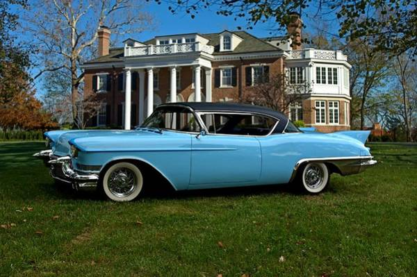 Photograph - 1957 Cadillac Eldarado by Tim McCullough