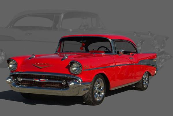 Photograph - 1957 Chevrolet Bel Air by Tim McCullough