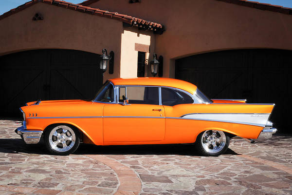 Photograph - 1957 Chevrolet Belair by Jill Reger