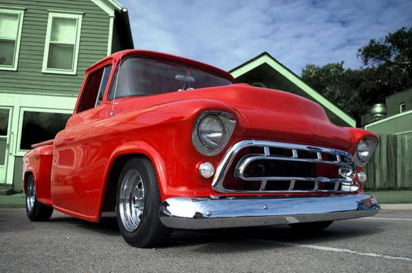 Photograph - 1957 Chevrolet Pickup Truck by Tim McCullough