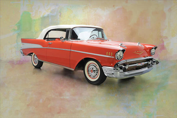 Photograph - 1957 Chevy Bel Air by Carlos Diaz